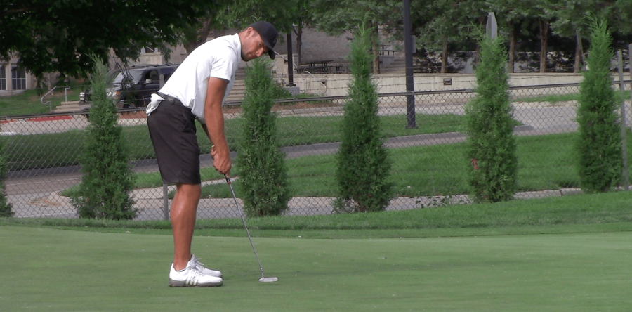 Guthmiller Ties Record, Takes Lead at Nebraska Amateur