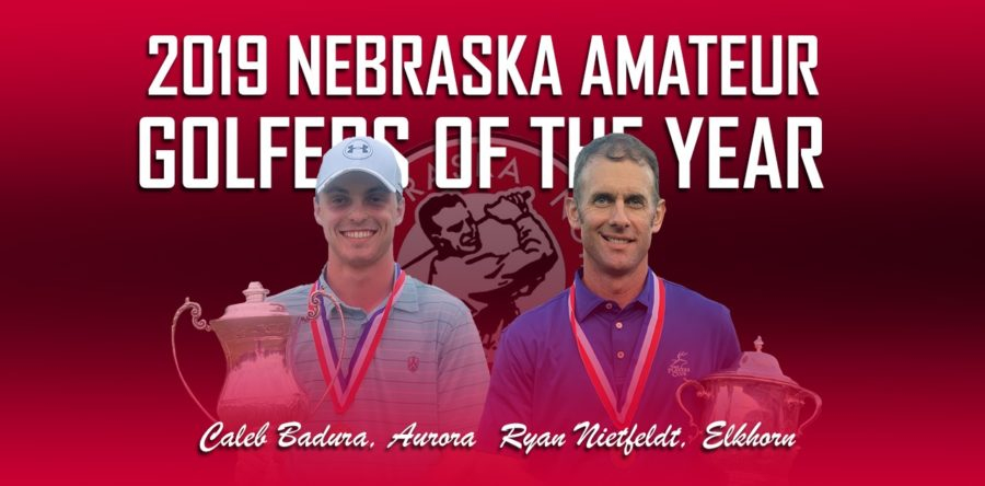 Badura, Nietfeldt Share Nebraska Amateur Golfer of the Year Award