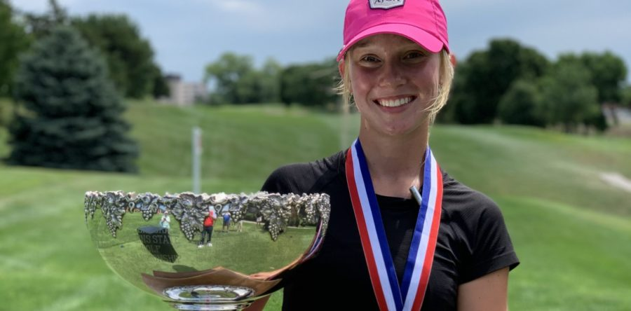 Ruge is Second Youngest Nebraska Women's Match Play Champion