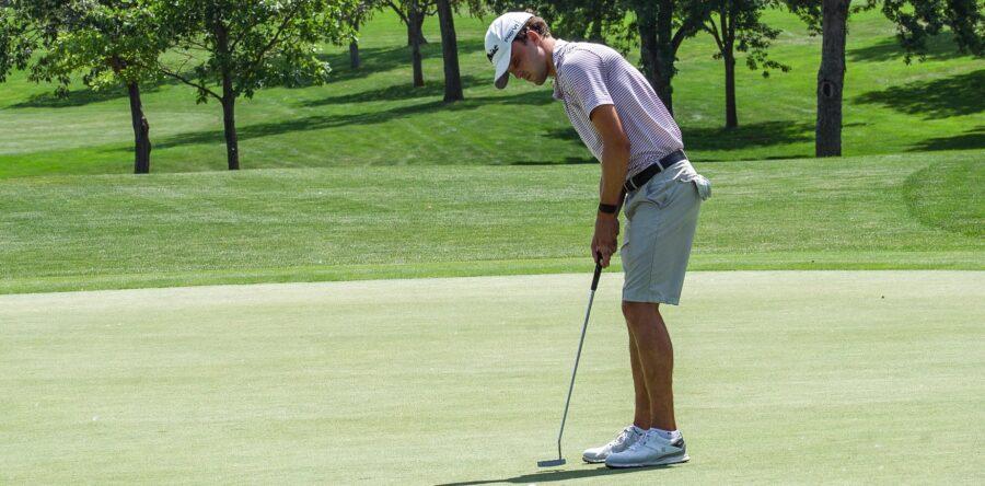Badura Sets Nebraska Amateur Record, Ties Schaefer for 54-hole Lead