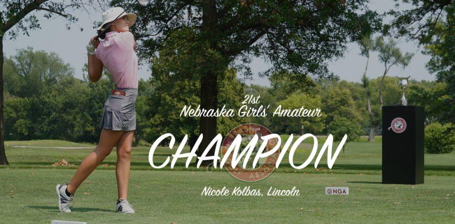 Kolbas Completes Back Nine Comeback to Win Girls' Amateur