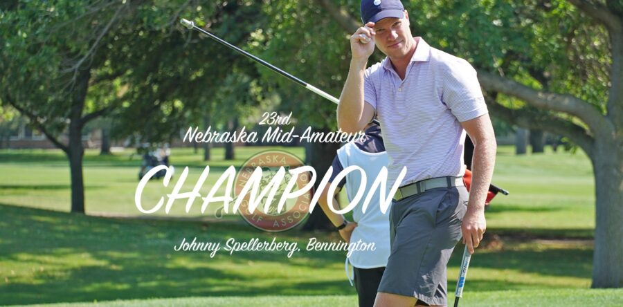 Spellerberg Secures First Nebraska Mid-Amateur Title