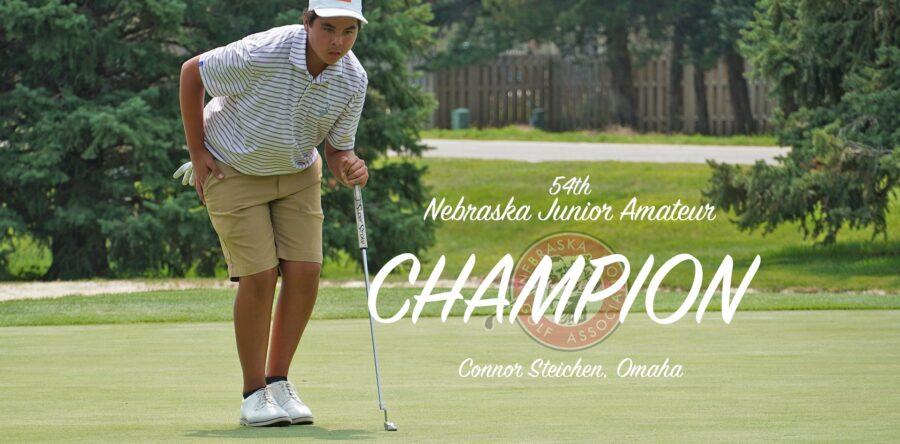 Steichen Closes Strong to Win Nebraska Junior Amateur